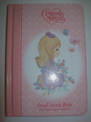 Precious Moments Small Hands Bible Pink-We Got Character