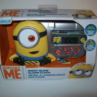 Despicable Me Alarm Clock With Night Light-We Got Character