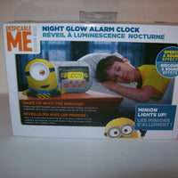 Despicable Me Alarm Clock With Night Light - We Got Character