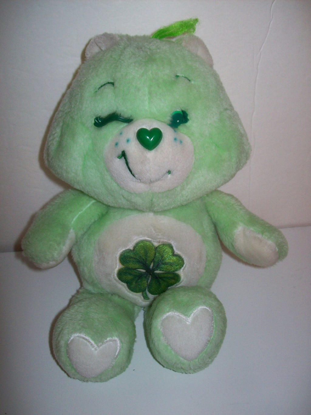 "13"" Care Bear Good Luck Bear - We Got Character"