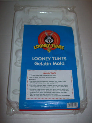 Looney Tunes Gelatin Mold Tray-We Got Character