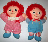 Playskool Raggedy Ann and Andy Baby Dolls - We Got Character