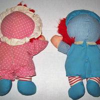 Playskool Raggedy Ann and Andy Baby Dolls-We Got Character