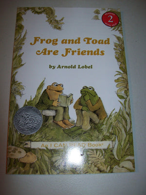 Frog and Toad Are Friends by Lobel-We Got Character