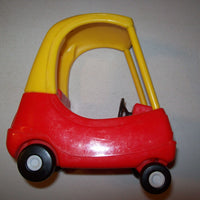 Little Tikes Dollhouse Size Cozy Coupe Car Red & Yellow - We Got Character