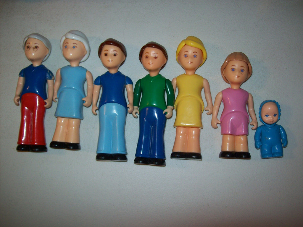Little Tikes Loving Family Dollhouse Family Lot of 7