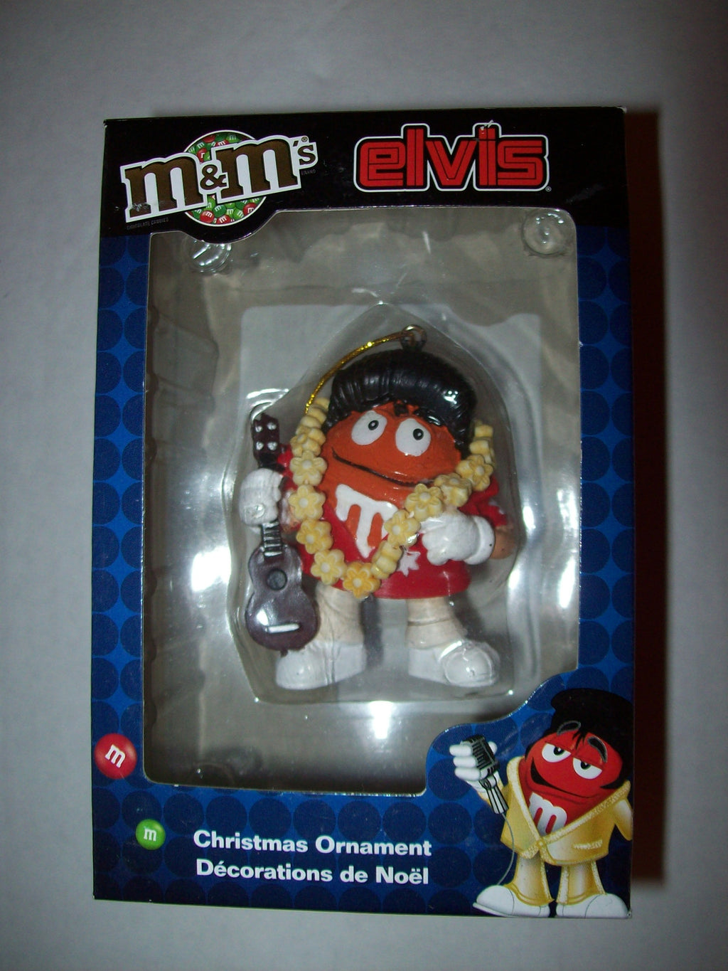Orange M&M Elvis Presley Christmas Ornament Adler-We Got Character