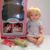 Baby Soft Sounds 1979 Fisher Price Electronic Doll - We Got Character