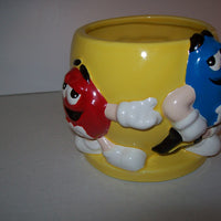 M&M Yellow Vase FTD-We Got Character