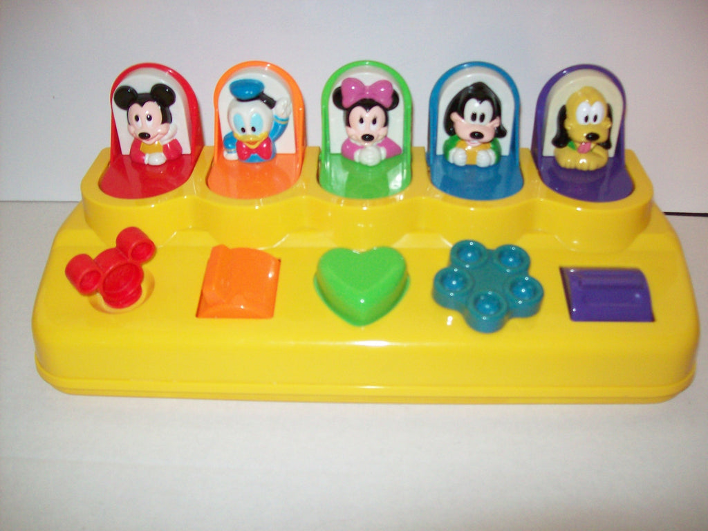 Disney Babies Pop Up Learning Toy Mickey Mouse & Friends