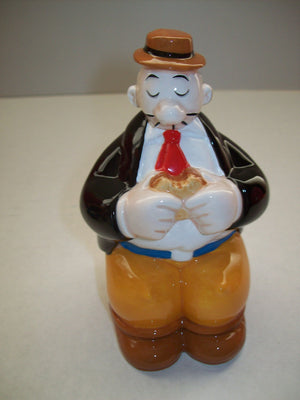 J. Wellington Wimpy Figurine MGM Grand From Popeye