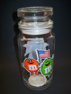 M&M Olympic Glass Candy Jar - We Got Character