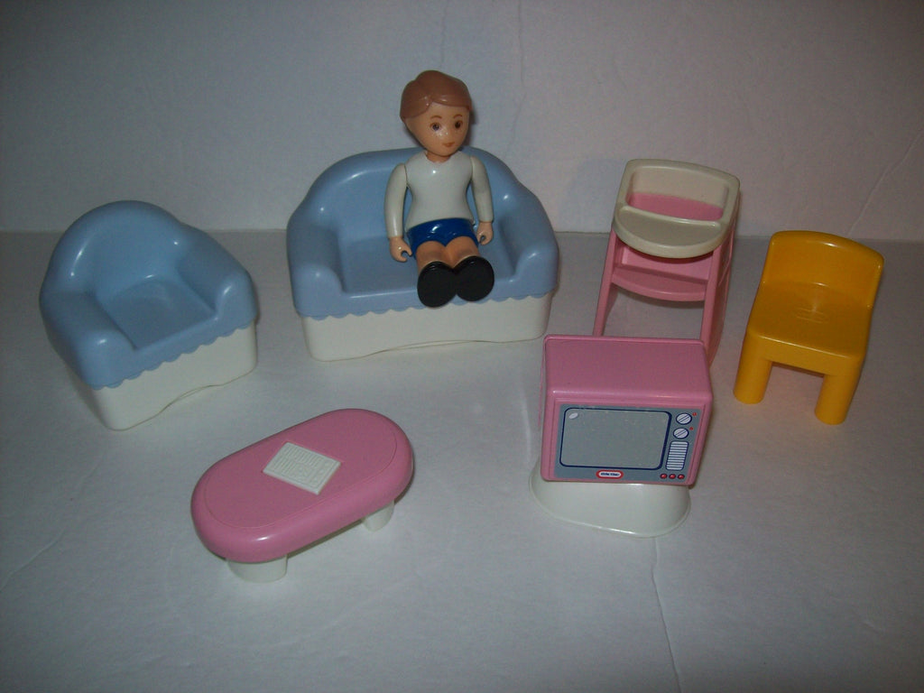 Little Tikes Living Room Mixed Furniture Lot