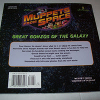 Muppets Great Gonzos Of The Galaxy Paperback Book