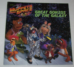 Muppets Great Gonzos Of The Galaxy Paperback Book - We Got Character