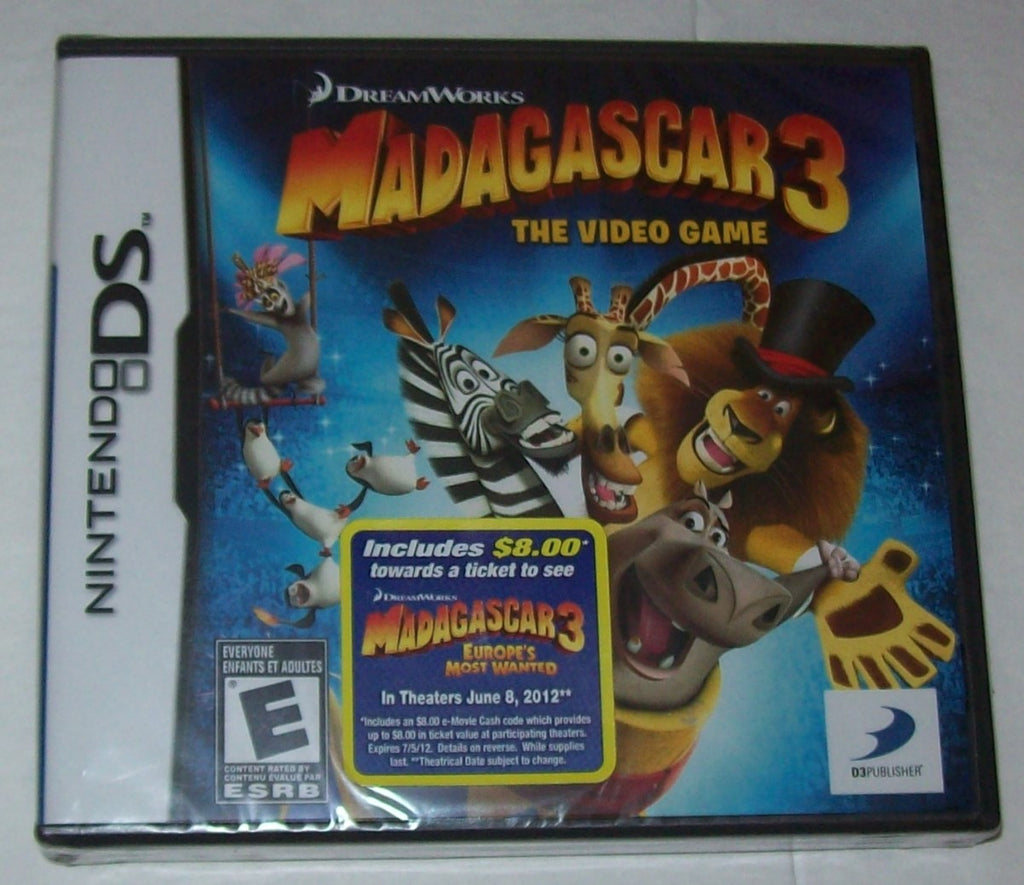 Madagascar 3 The Video Game Nintendo DS - We Got Character