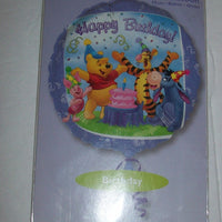"Winnie The Pooh Happy Birthday 18"" Foil Balloon-We Got Character"
