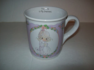 Precious Moments Coffee Cup The Lord Is My Shepard - We Got Character