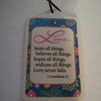 Love Bears All Things Coffee Cup & Plaque