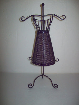 Purple Mannequin Jewelry Stand-We Got Character