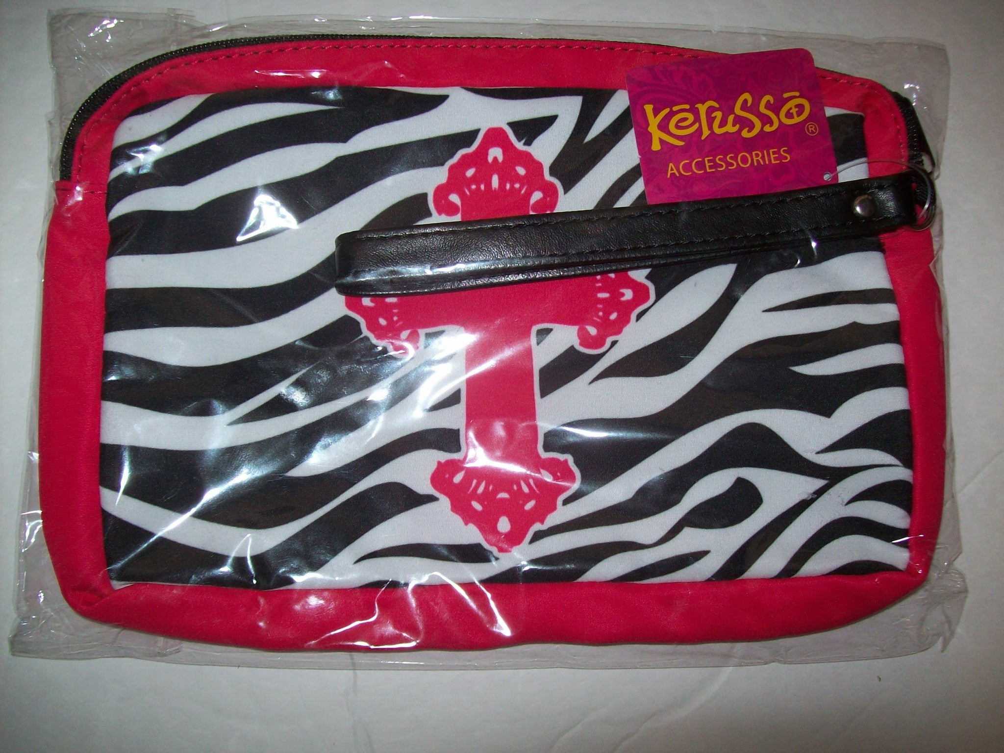 Zebra Cross Print Bag  Kerusso - We Got Character