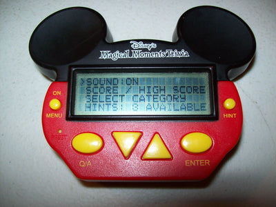 Disney's Magical moments Trivia Handheld Game-We Got Character