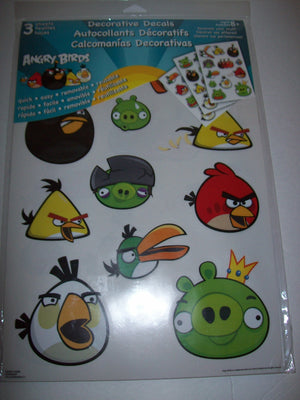 Angry Bird Decorative Decals - We Got Character