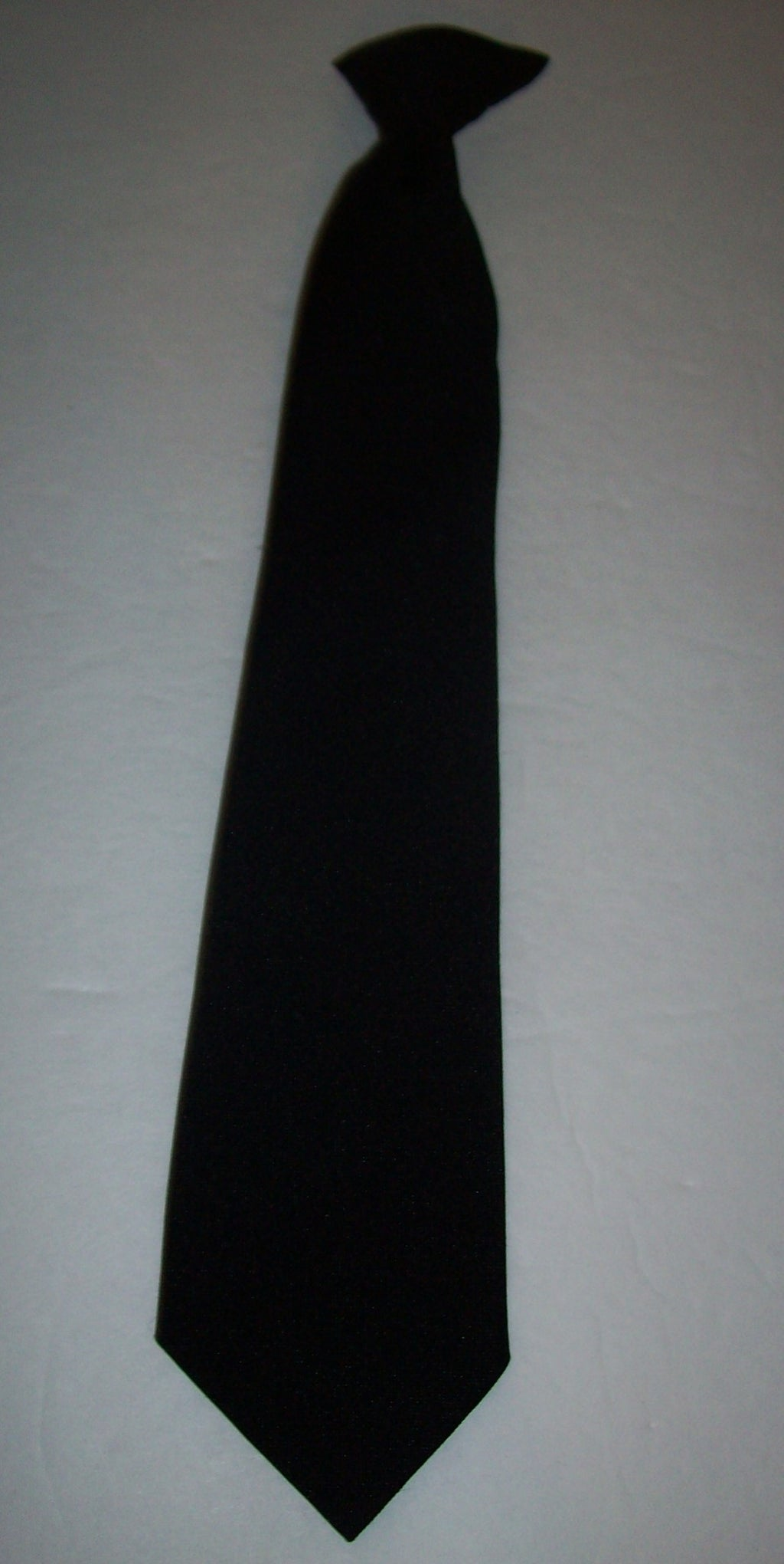 Boys Youth Black Clip On Tie - We Got Character
