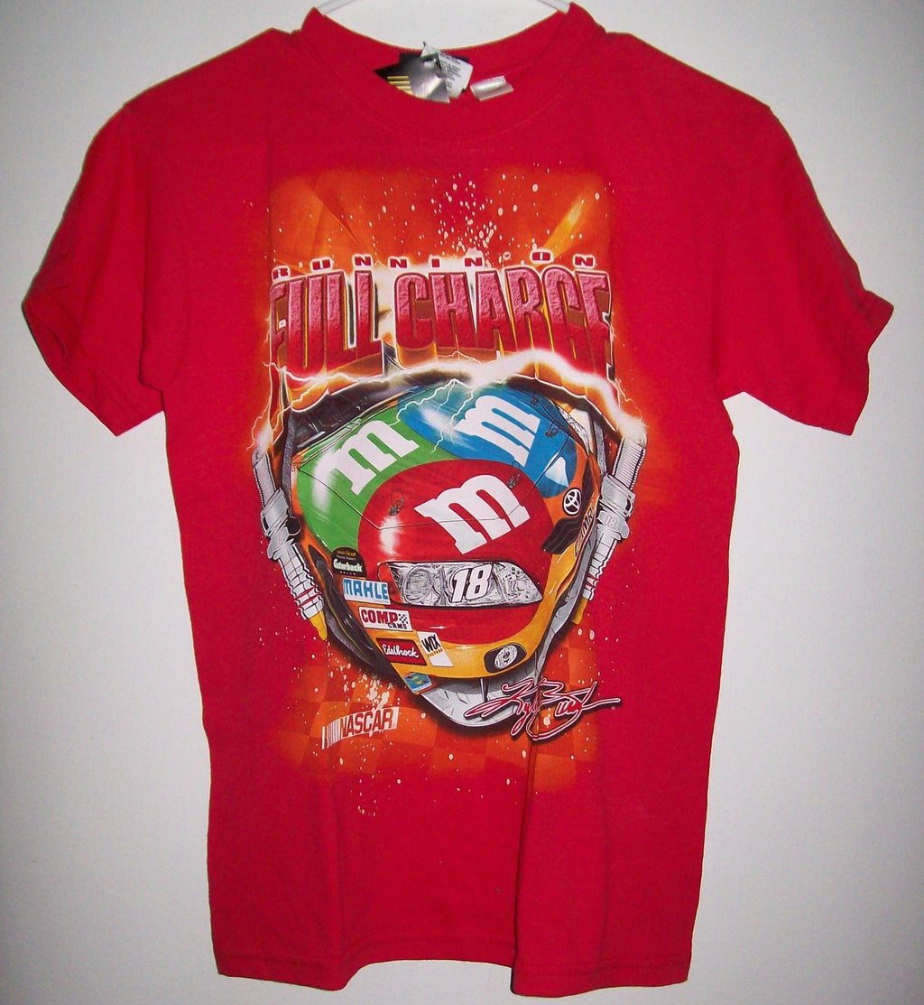 2009 M&M Kyle Busch Red Racing T Shirt - We Got Character