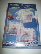 Bucilla Special Edition Row Of Roses Tissue Box & Sachets - We Got Character