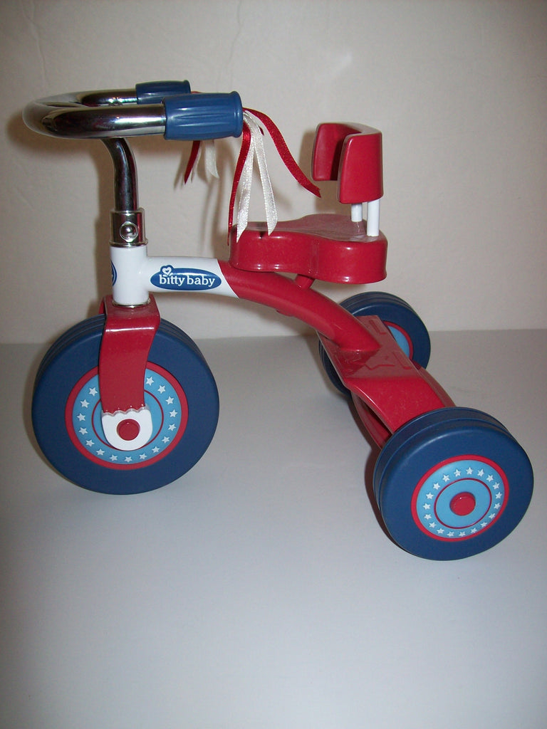 American Girl Bitty Baby Twin Tricycle Bike