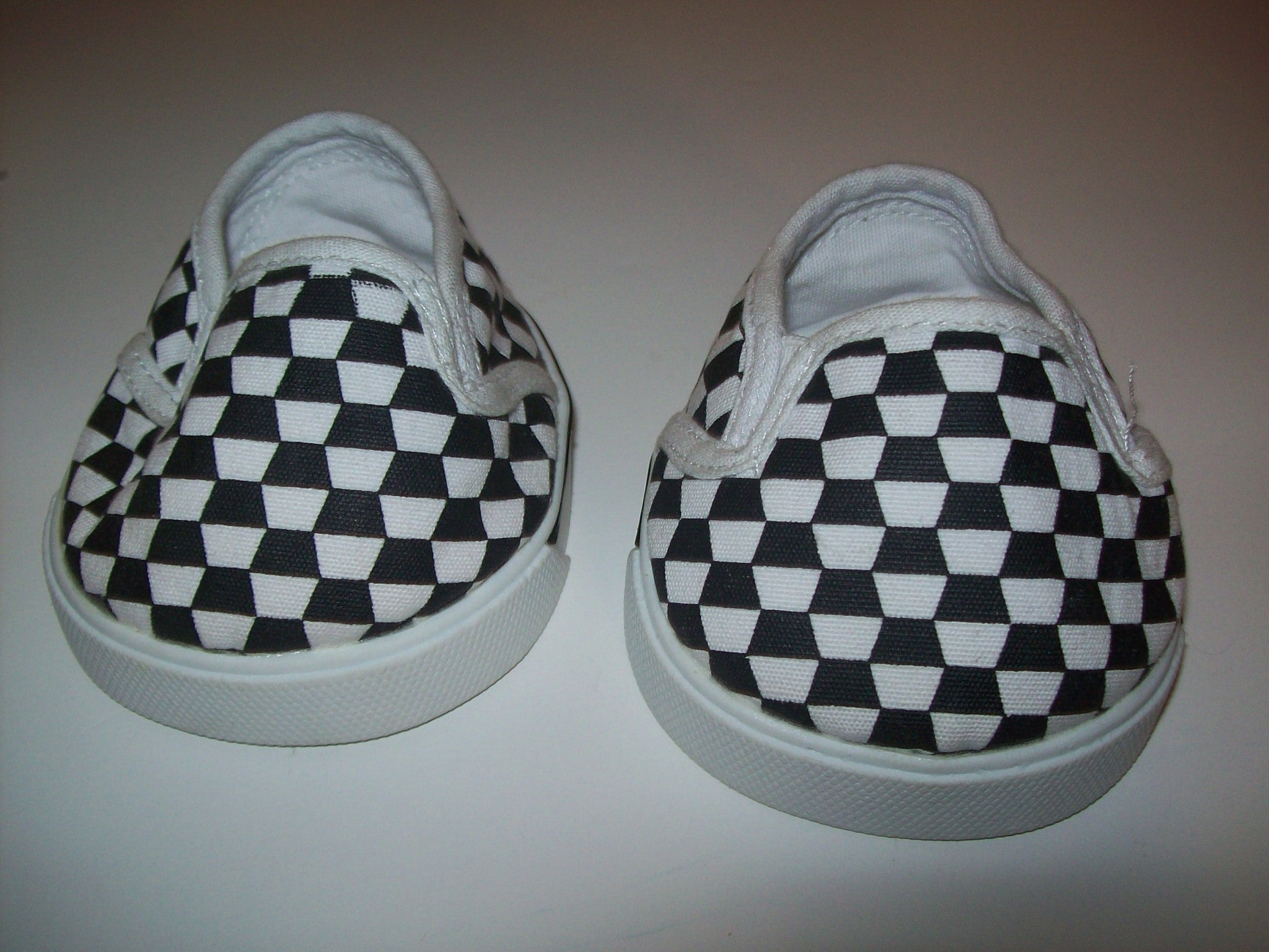 Build A Bear Checkered Shoes - We Got Character