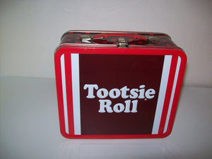 Tootsie Roll Tin Metal Lunchbox Case - We Got Character