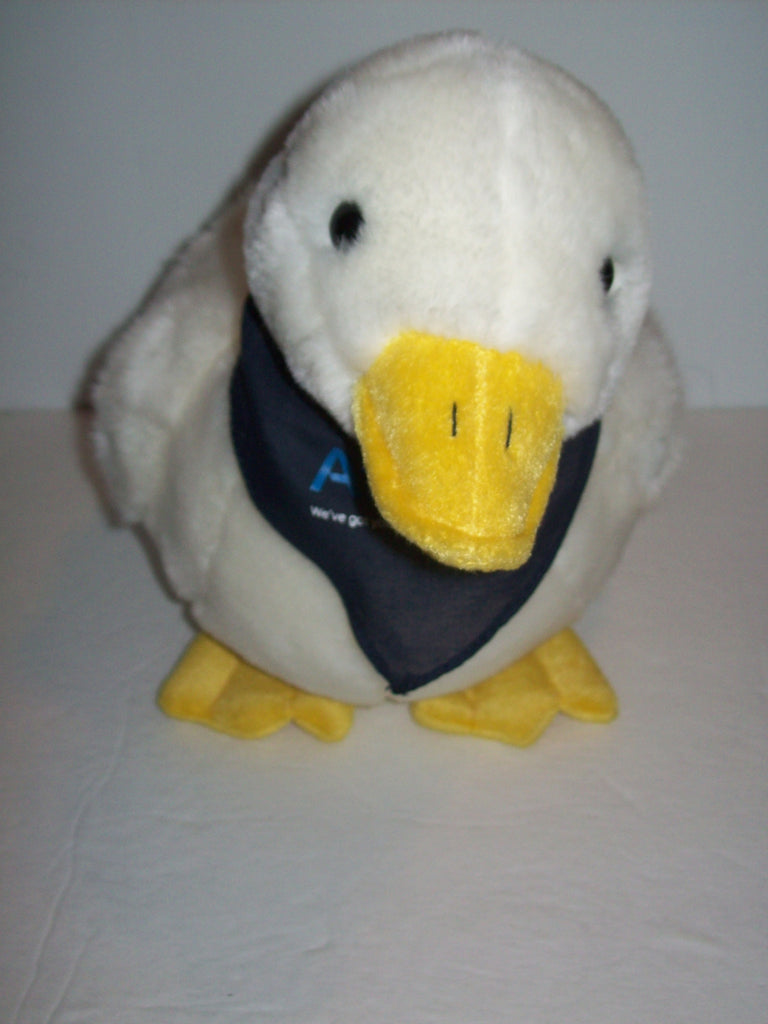 Aflac Talking Duck Plush Bank