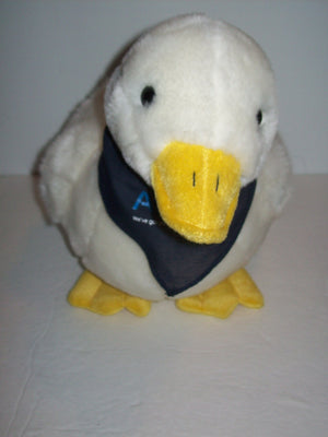 Aflac Talking Duck Plush Bank - We Got Character