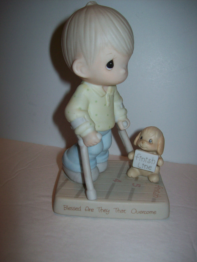 Precious Moments Figurine Blessed are They That Overcome