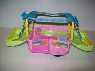 Fisher Price Pop Up Camper - We Got Character