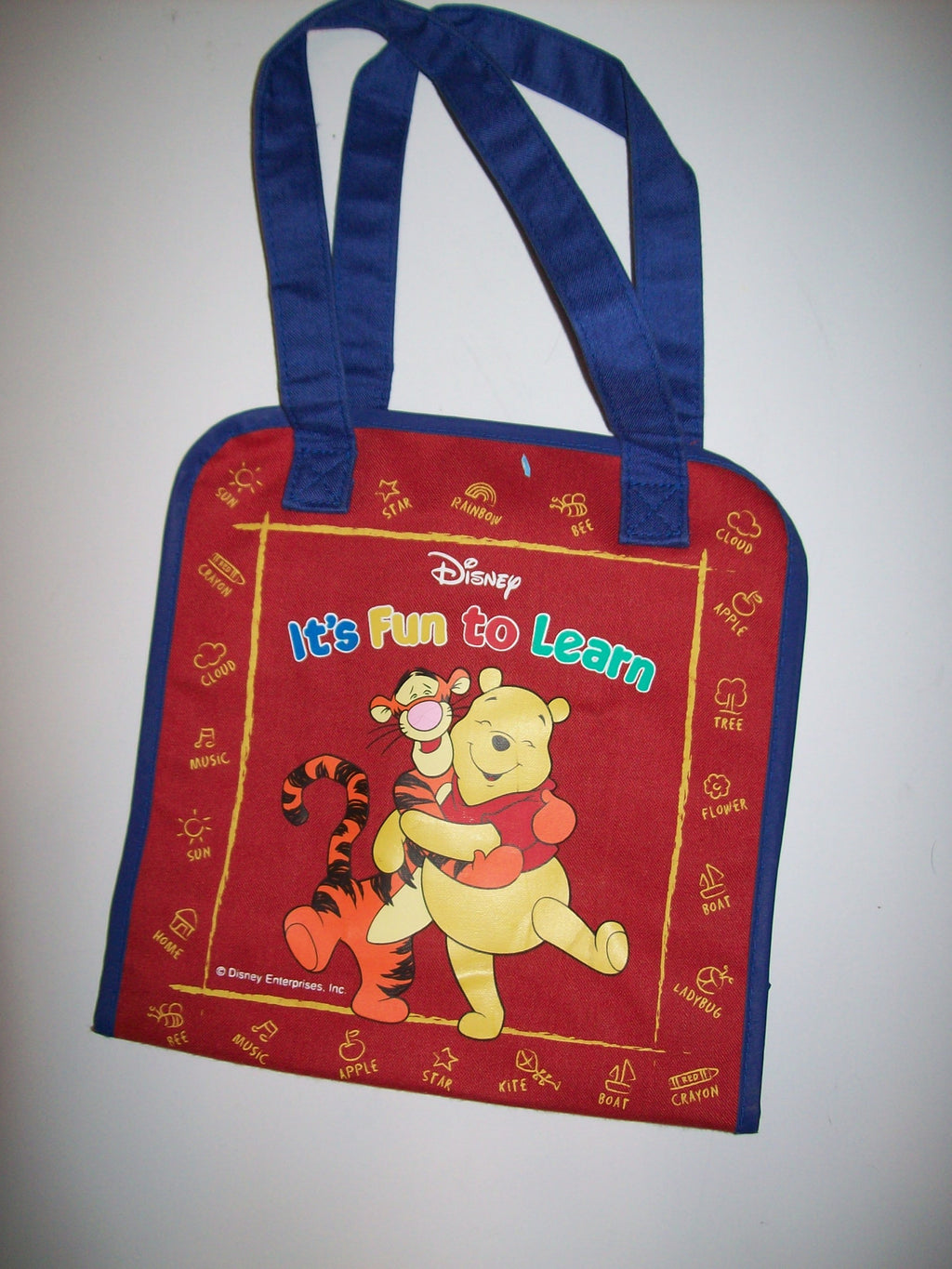 Disney It's Fun To Learn Book Bag - We Got Character
