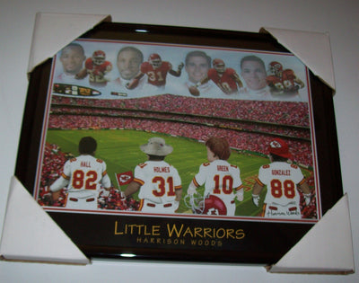 Little Warriors Harrison Woods Football Print - We Got Character