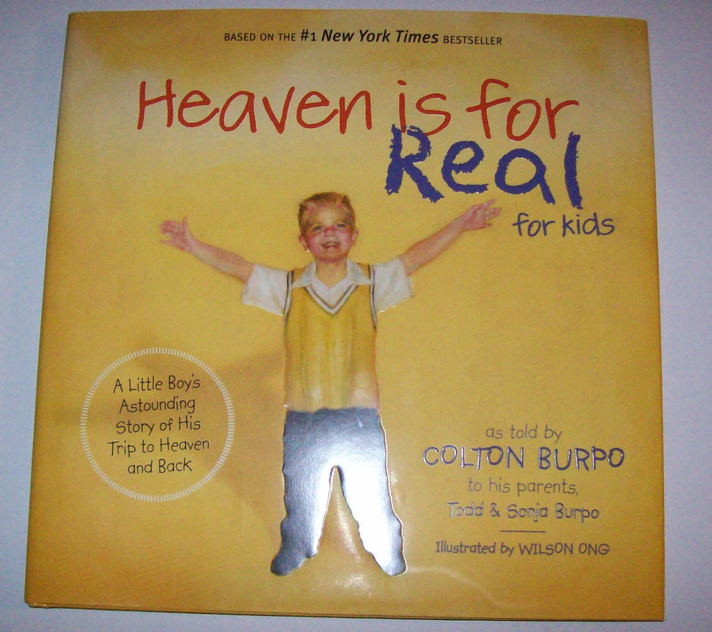 Heaven Is Real For Kids by Burpo-We Got Character