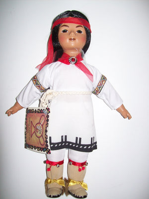 Native American  Series Young Hawk - Pueblo Brave - We Got Character