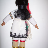 Native American  Series Young Hawk - Pueblo Brave