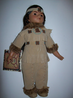 Native American Series Doll Brave Bear Lakota Sioux Brave - We Got Character