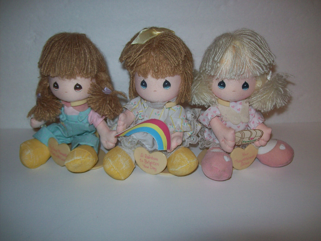 Lot of 3 Precious Moments Dolls