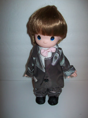 Precious Moments Boy Doll-We Got Character
