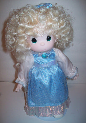 Precious Moments Aquamarine  March Doll - We Got Character