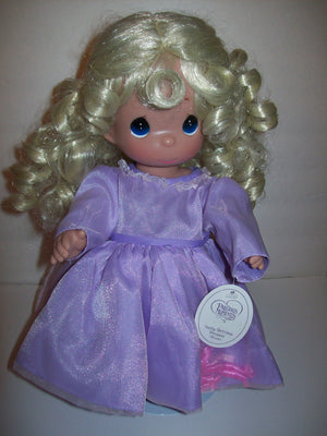 Precious Moments Doll Happy Birthday Princess  Blonde - We Got Character