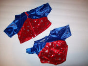 Build a Bear Gymnastics Olympics Jumpsuit Coat-We Got Character
