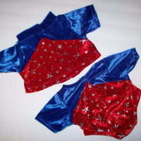 Build a Bear Gymnastics Olympics Jumpsuit Coat