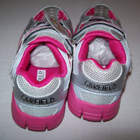 Garfield Sneakers Silver and Pink